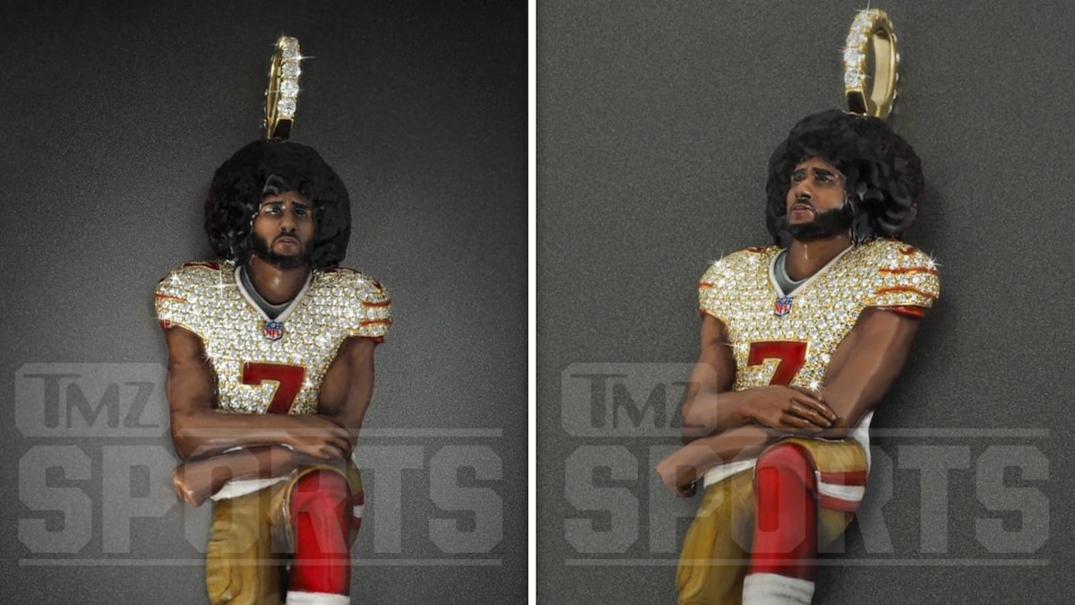 Colin Kaepernick $90,000 Custom Pendant Being Auctioned For Charity