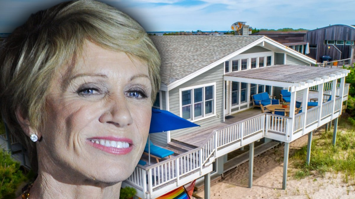 'Shark Tank' Star Barbara Corcoran Selling Beachfront Home, Buys Another