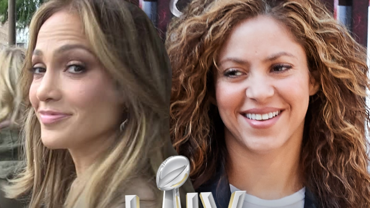 Jennifer Lopez and Shakira Co-Headlining Super Bowl LIV Halftime Show