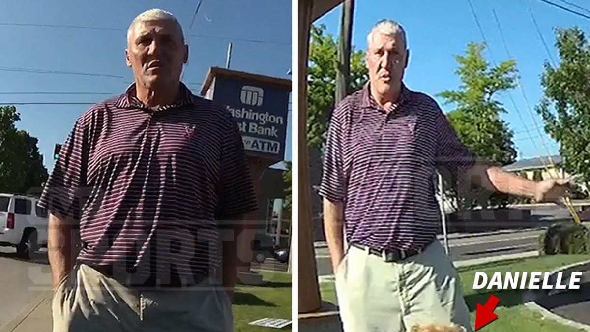Mark Rypien Arrest Video Shows Wife Coughing & Choking After He Struck Her