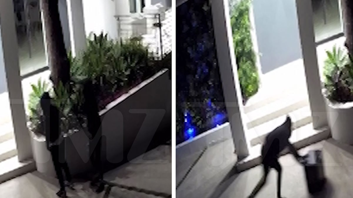 Poo Bear's Home Burglary Caught on Video, Thief Struggled With Safe