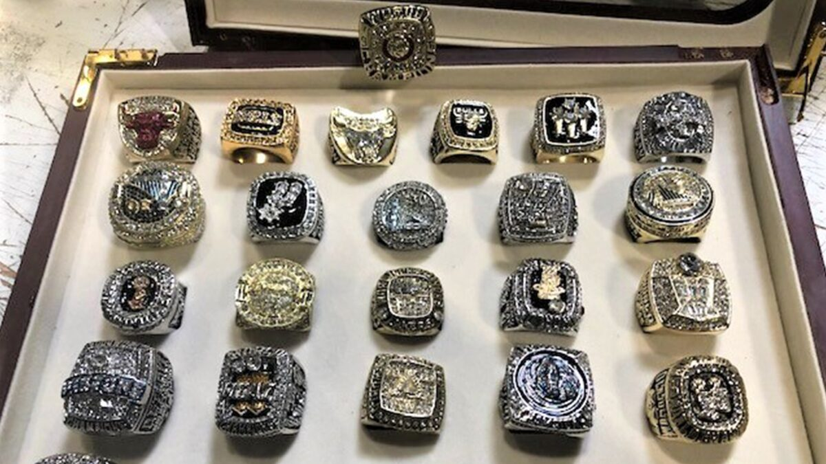 Fake NBA Championship Rings Seized in Customs Bust at LAX