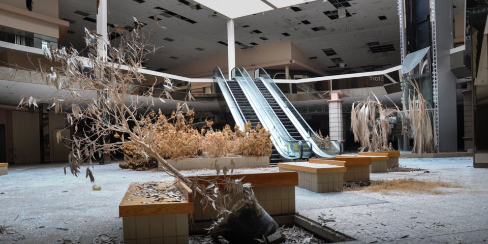 Inside the infamous dead mall that Amazon is turning into a 700,000-square foot fulfillment center (AMZN)
