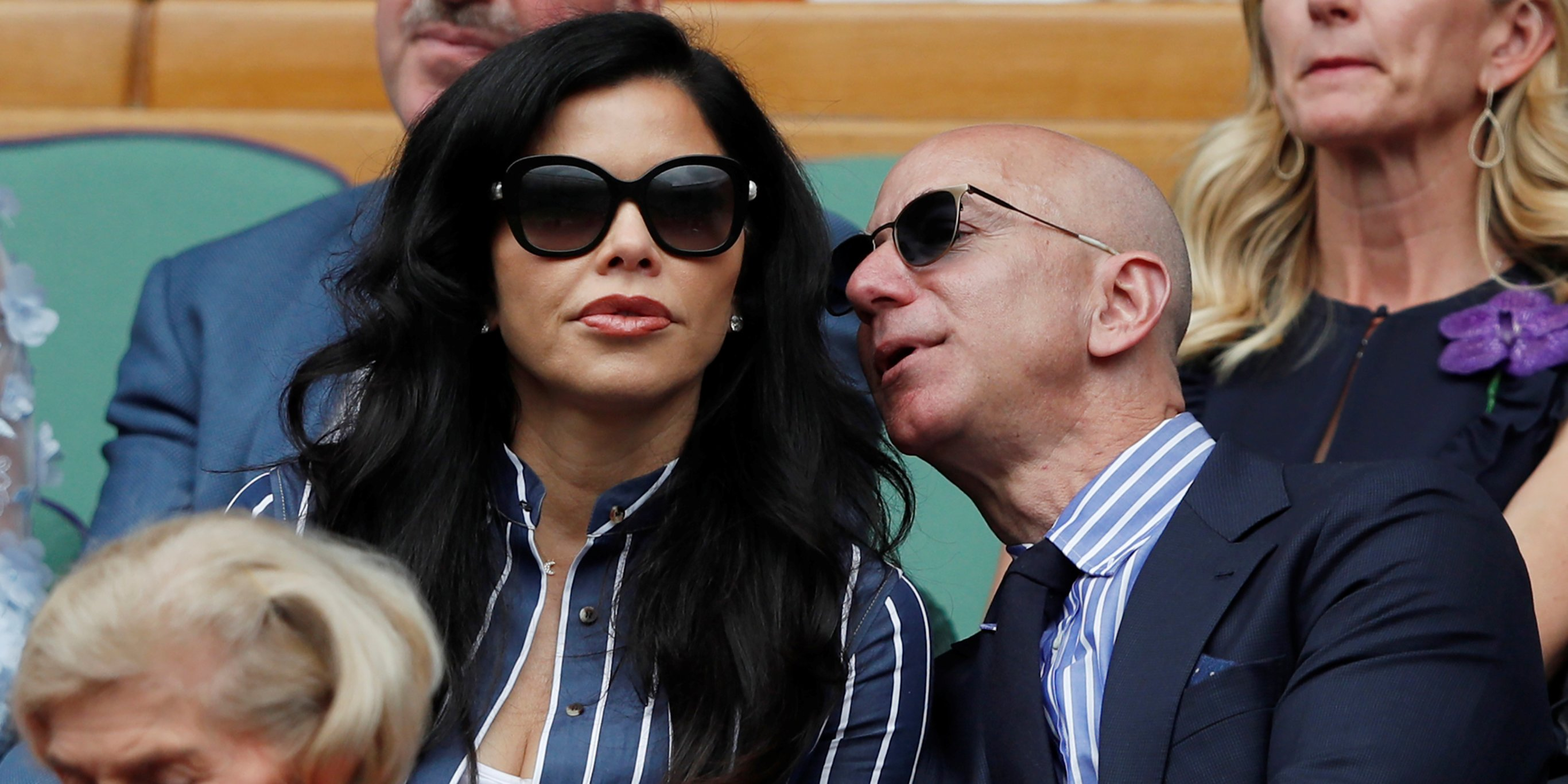 Jeff Bezos has had a wild summer of yachting around the Balearics and jetting off to Wimbledon with his girlfriend. Here's a look at how he spent his time.
