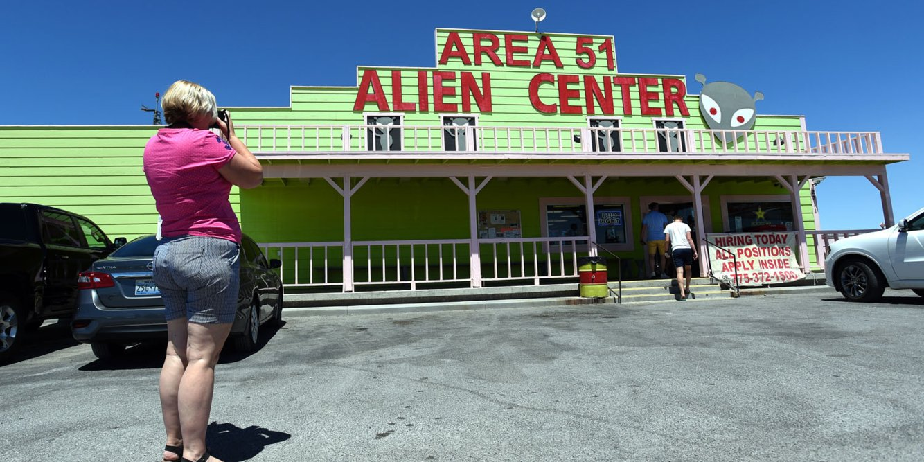 Millions of people signed up to storm Area 51 today — here's what the invaders will find when they hit the small Nevada town