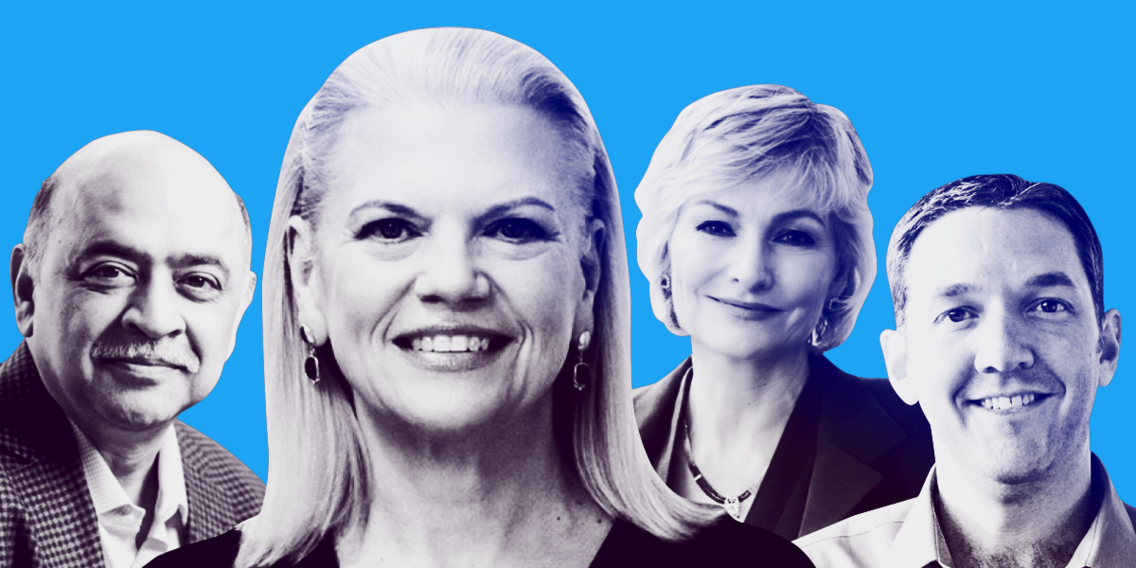 Meet the 14 IBM execs with key roles in CEO Ginni Rometty's bold bid to dominate a $1 trillion market — including 4 who might succeed her one day (IBM)