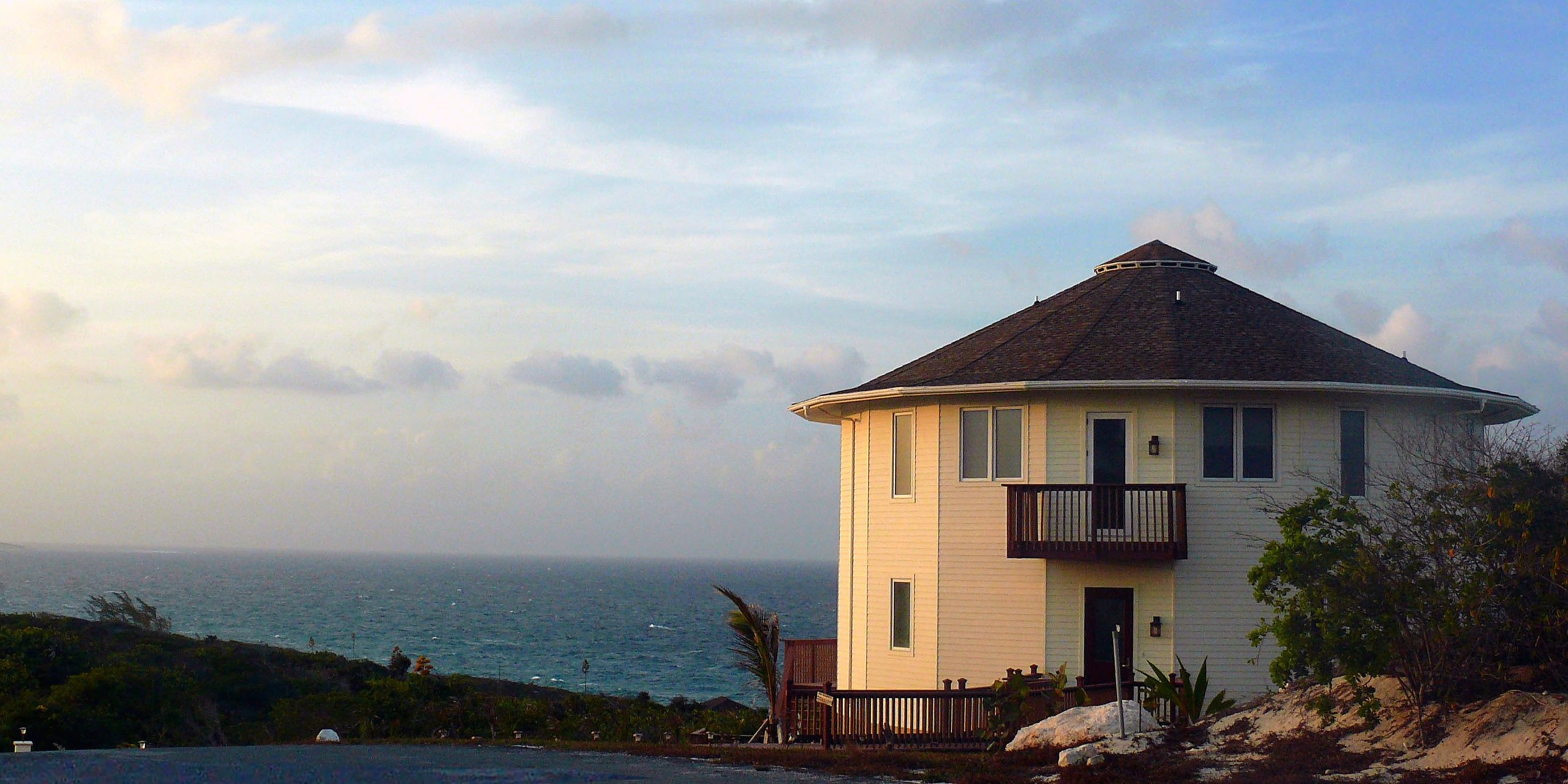 These round homes have survived every major hurricane in the last 50 years, including Hurricane Dorian in the Bahamas. Take a look.