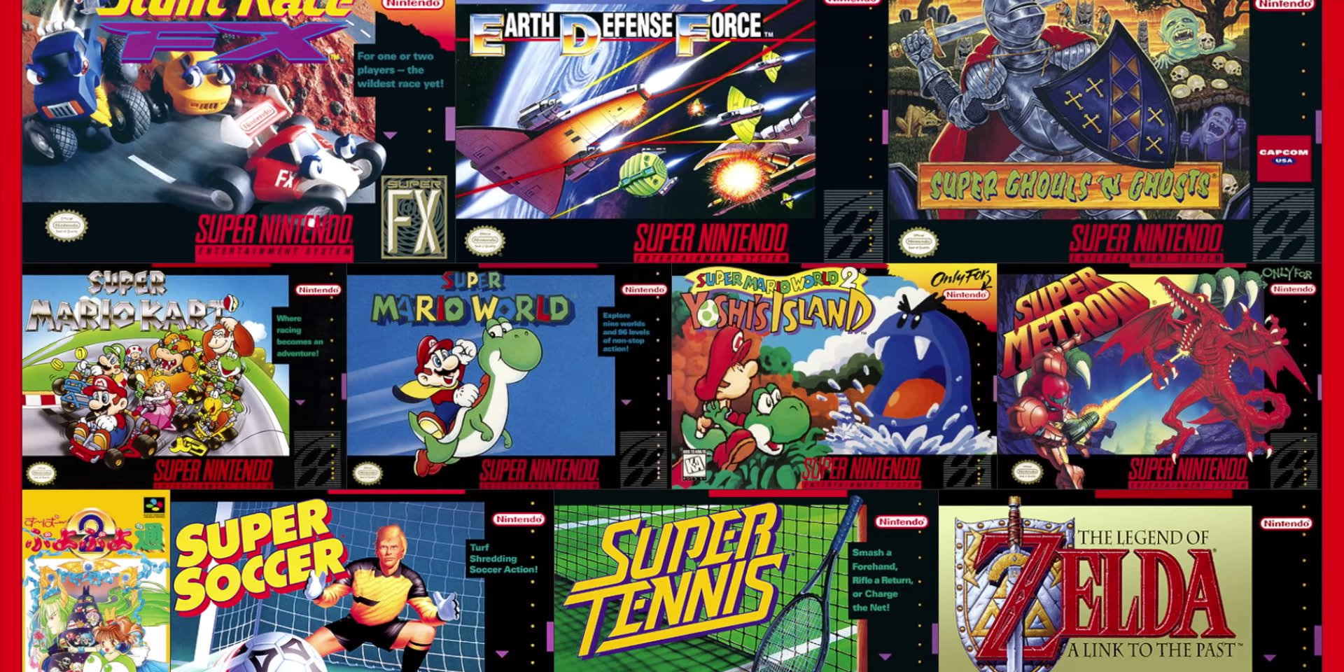 Nintendo is finally bringing Super Nintendo games to the Switch. Check out the full list of the first 20 games arriving Thursday. (NTDOY)