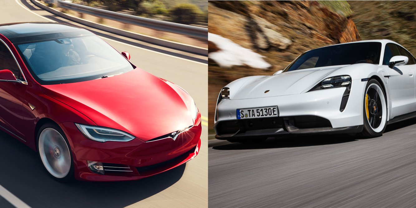Porsche's $153,510 electric sports car, the Taycan, is set to compete with Tesla's Model S — here's how they stack up (TSLA)
