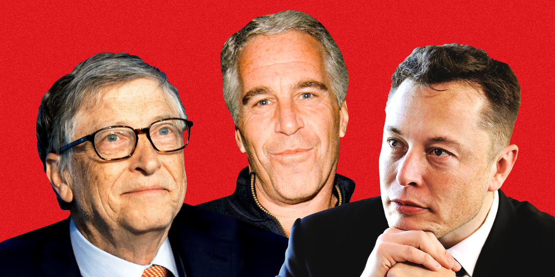 Jeff Bezos, Elon Musk, Sergey Brin, Marissa Mayer, and Bill Gates all reportedly attended an elite private dinner with Jeffrey Epstein just 2 years after he served a prison sentence for soliciting sex from a 14-year-old girl (AMZN, GOOGL, TSLA, MSFT)