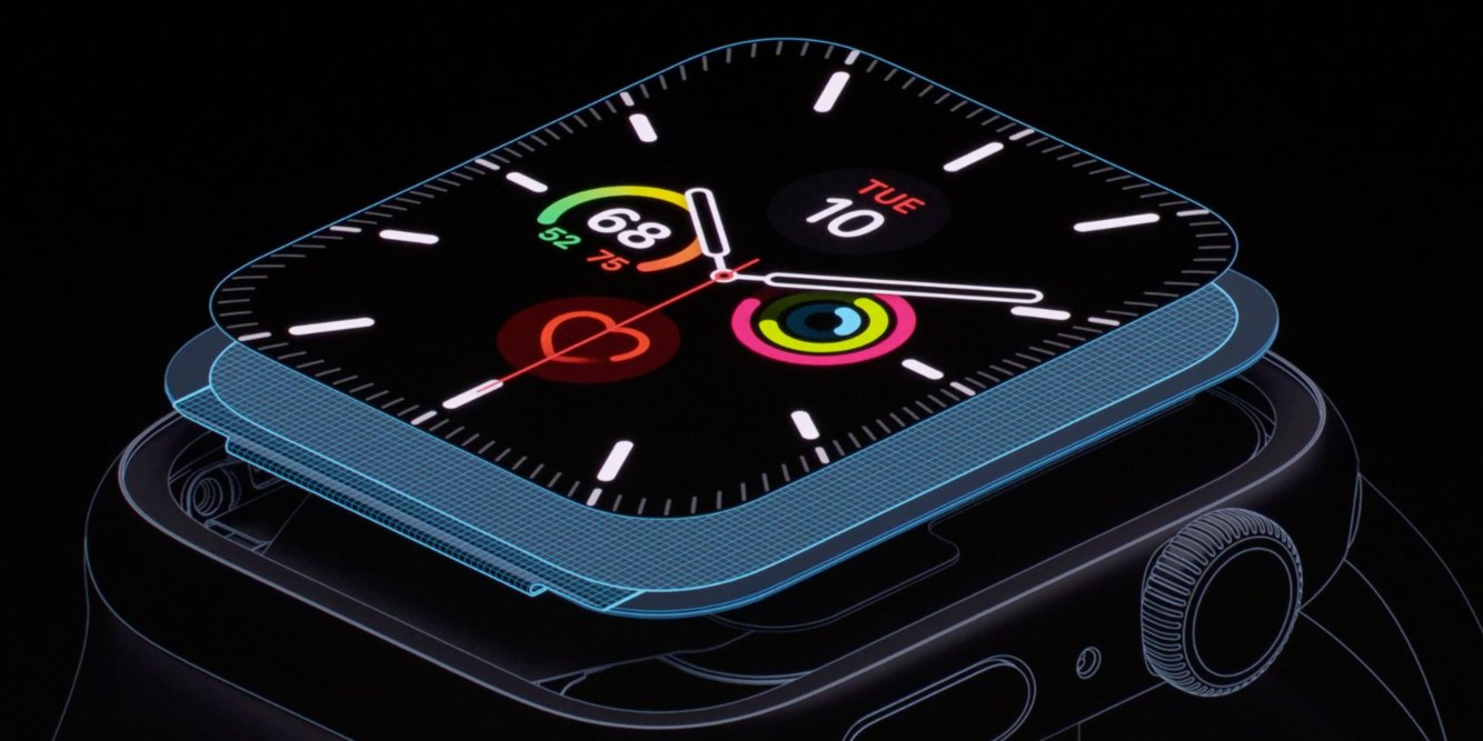 Apple just announced a new Apple Watch with an always-on display for the first time ever (AAPL)