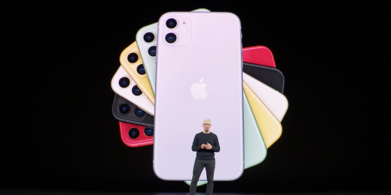 This is the iPhone 11