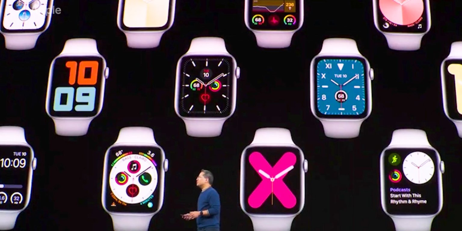 Watch Apple unveil the new Series 5 watch