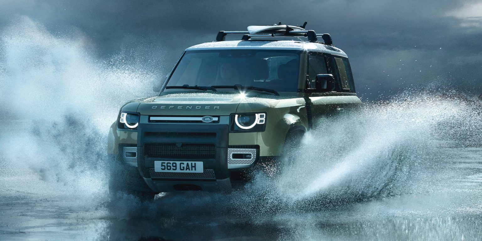 Land Rover just unveiled its long-awaited new Defender SUV. Take a closer look at this redesigned legend