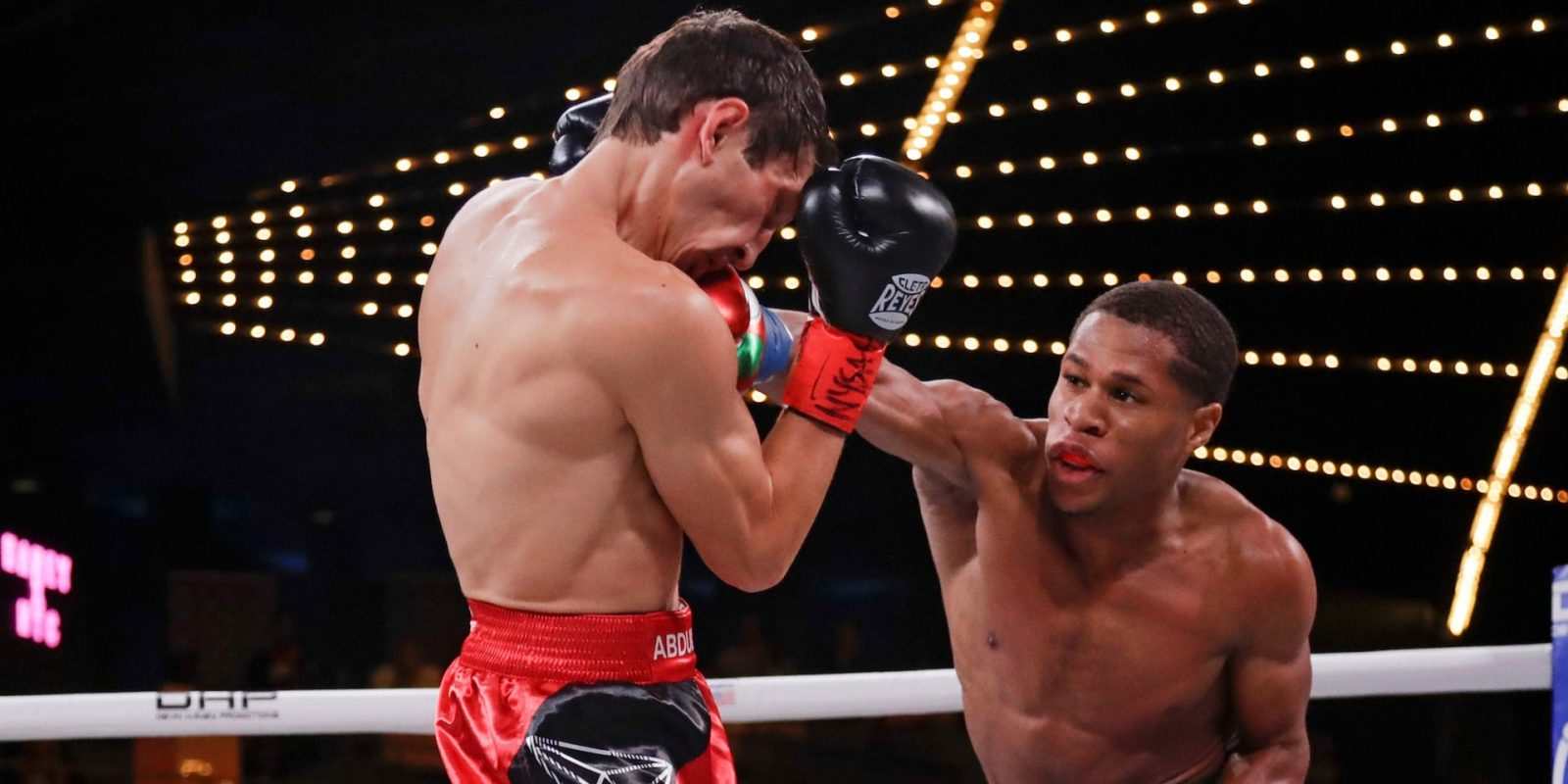 A 20-year-old American boxer scored another thumping win, escalating comparisons to a young Floyd Mayweather