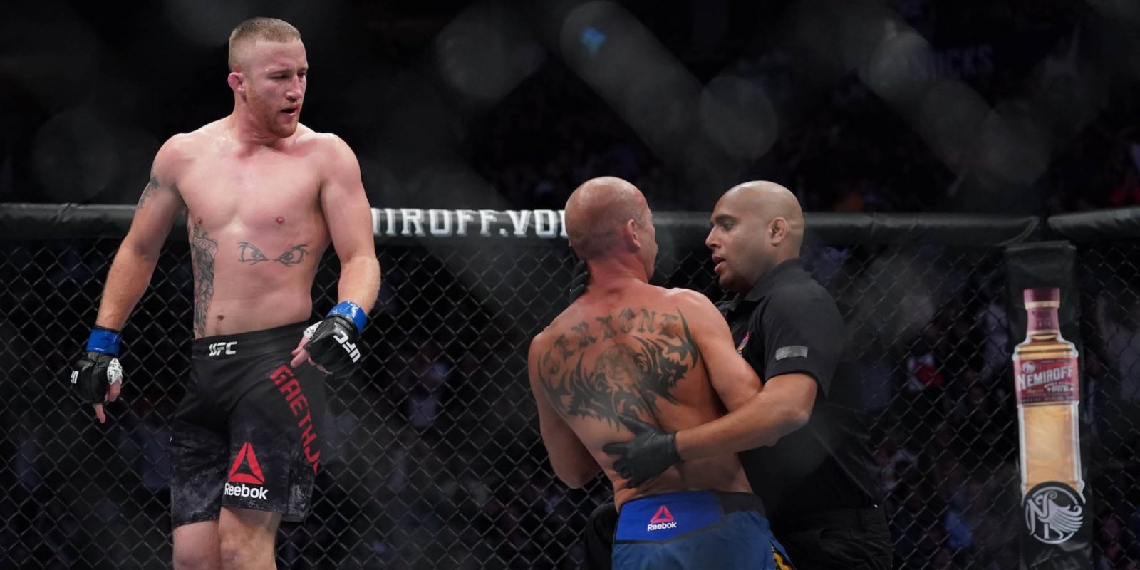 Justin Gaethje destroyed Donald 'Cowboy' Cerrone in a single round, then said he'd 'f— up' Conor McGregor