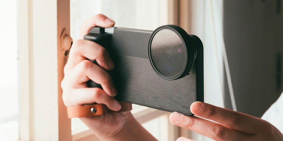 This $35 phone case with different lens attachments has replaced my DSLR camera — the lenses are so much easier to carry and the photo quality is on par