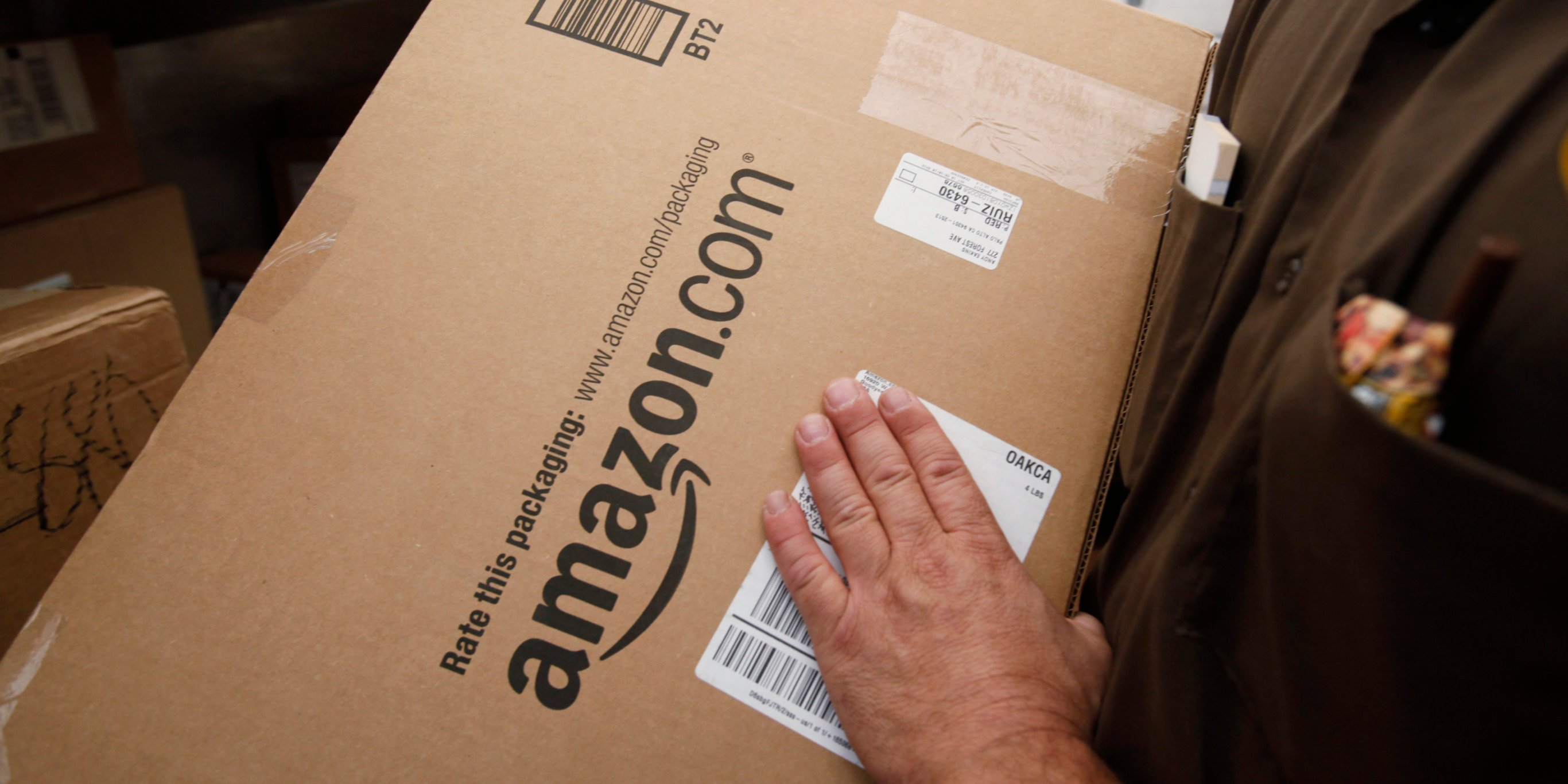Amazon is partnering with Western Union to let its US customers pay for online orders with cash (AMZN)