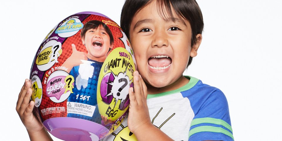 Inside the toy business of YouTube star Ryan ToysReview, the 8-year-old boy who makes $22 million per year