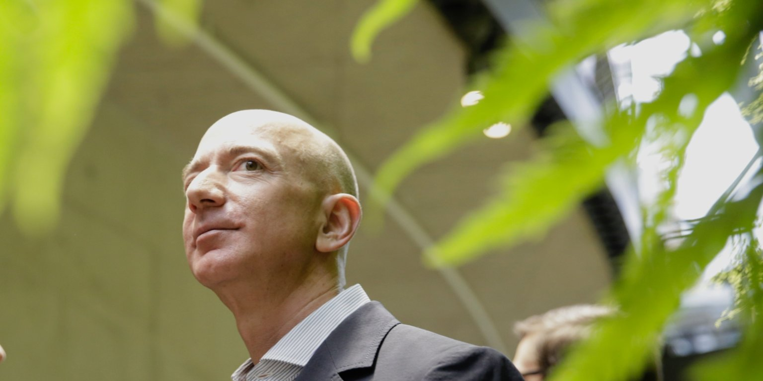Jeff Bezos just announced an ambitious climate pledge that aims to make Amazon carbon neutral by 2040 (AMZN)
