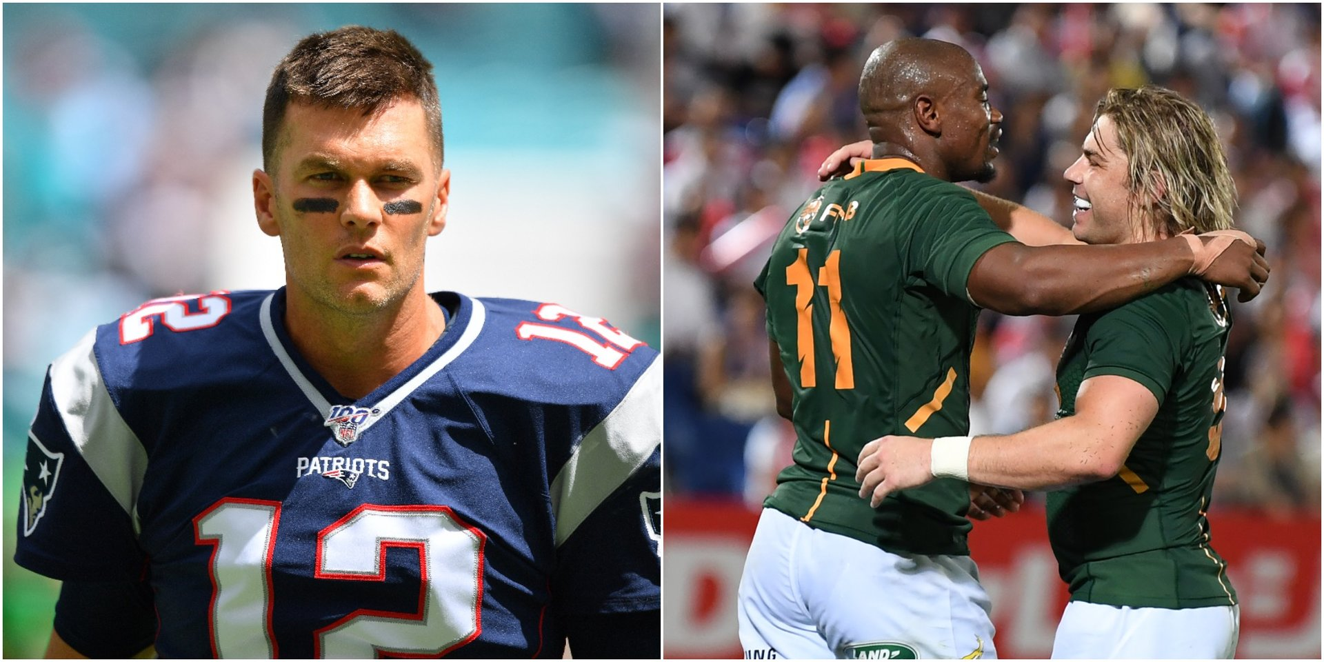 Tom Brady is rooting for South Africa, not the USA, at the Rugby World Cup in Japan