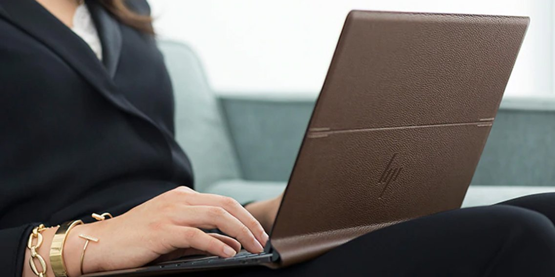 HP's leather-clad laptop is $482 off its original price on Amazon — it's one of the most unique and powerful laptops we've tried