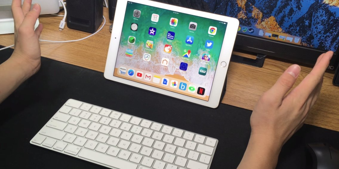 How to connect a wireless Apple keyboard to your iPad and use it to type in any app