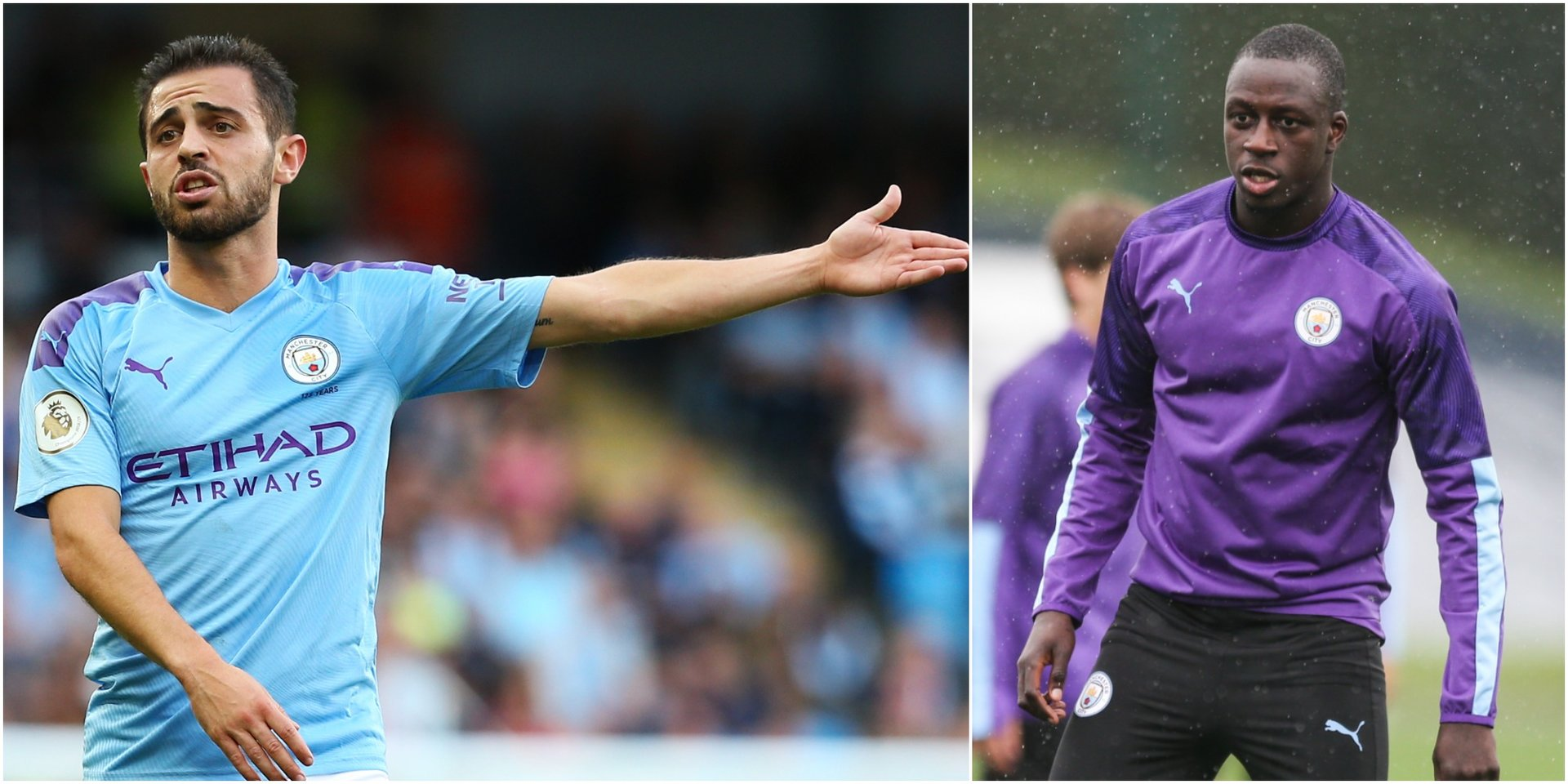 Manchester City star Bernardo Silva said you 'can't even joke with a friend' after being forced to delete a 'racist' tweet about his black teammate