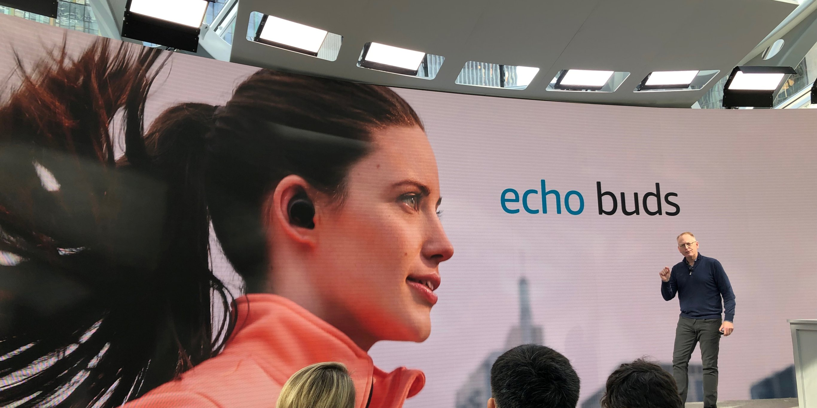 Amazon doesn't see Apple's AirPods as a threat to its new Echo Buds, says company executive (AMZN, AAPL)