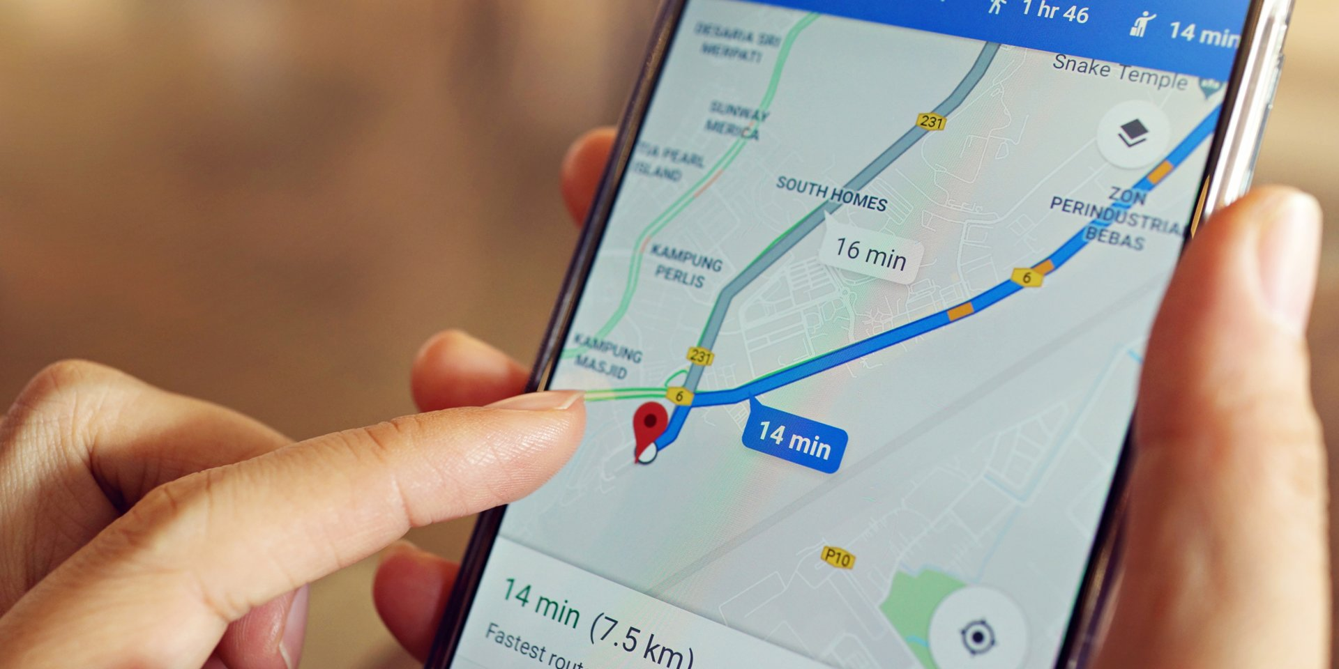 How to change your route on Google Maps on desktop or mobile, to choose an alternate route or make your own