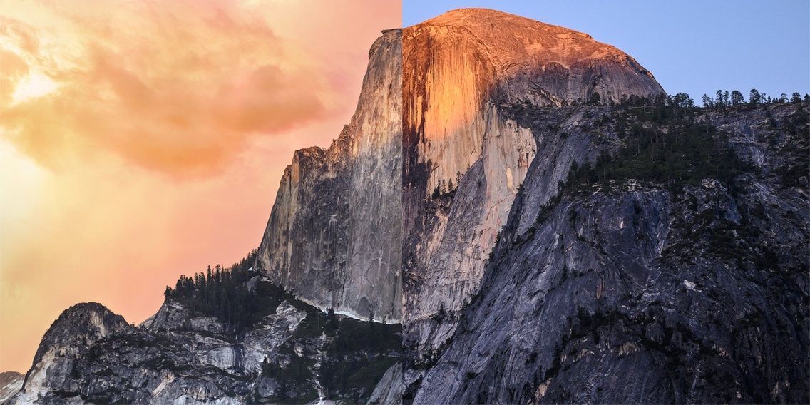 A group of YouTubers traveled around California to re-create some of Apple's iconic macOS wallpapers, and they actually pulled it off — almost