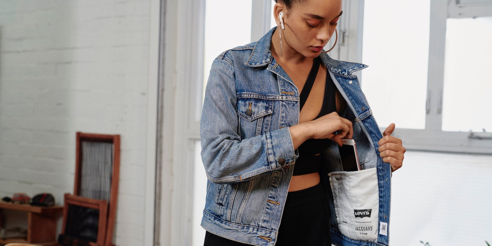 Levi's and Google are teaming up once again to launch denim jackets you can hardly tell are tech-enabled