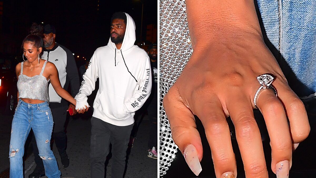 Kyrie Irving's Girlfriend Flaunts Massive Diamond Ring Amid Engagement Buzz