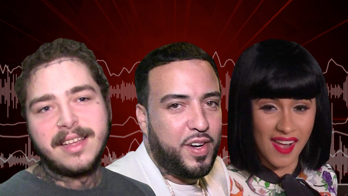 French Montana Gets Post Malone, Cardi B on New Song, 'Writing on the Wall'