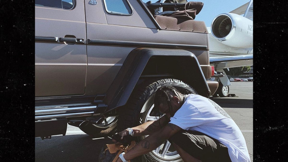 Travis Scott's New Rare Maybach G-Wagon Worth $1.6 MILLION