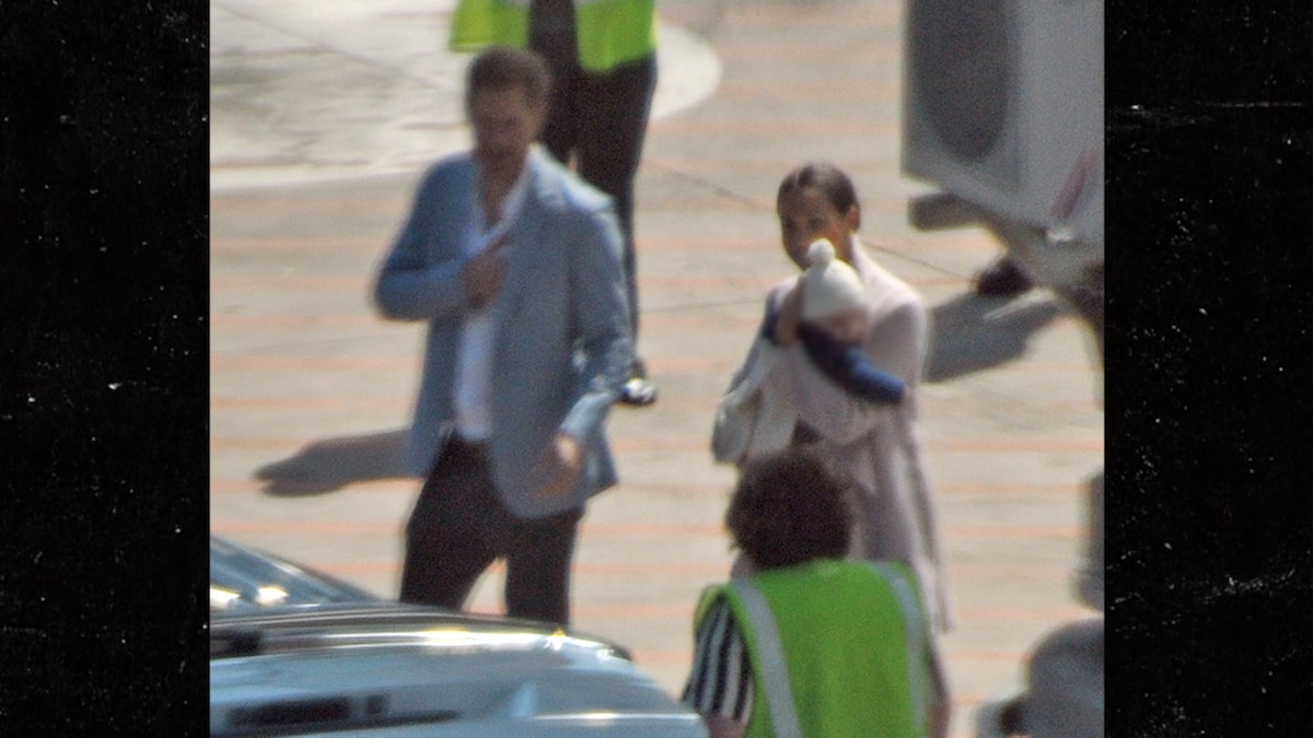 Prince Harry and Meghan Markle Fly Commercial in with Baby Archie