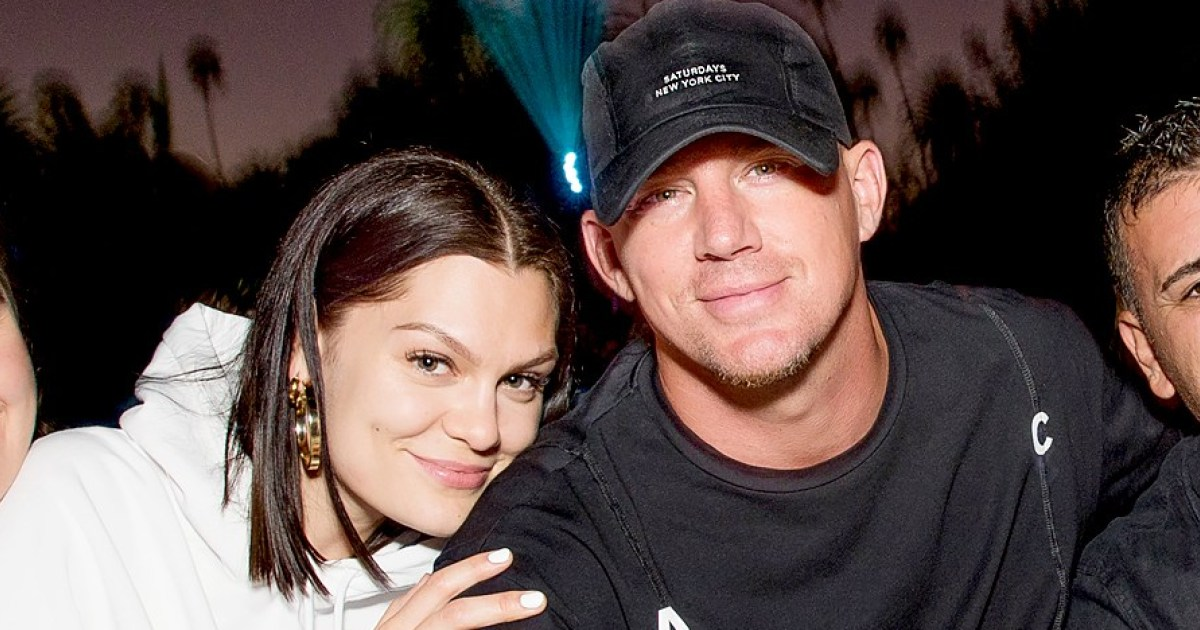 Channing Tatum and Jessie J Get Cozy on Intimate Outdoor Movie Date: Pic