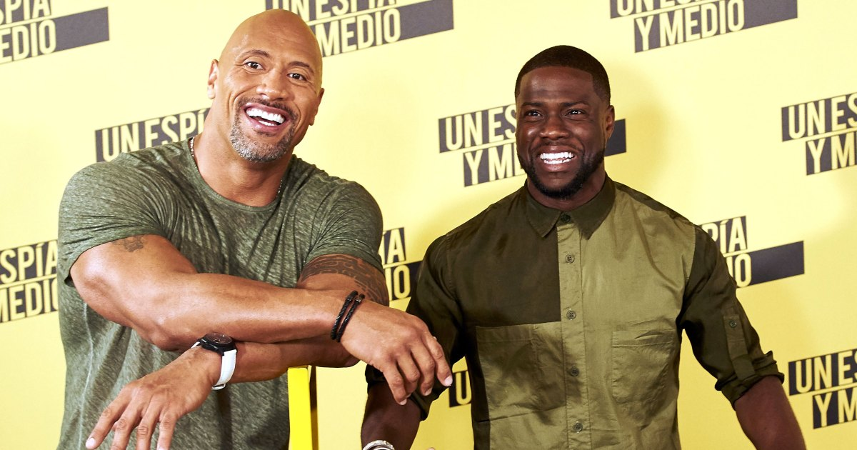 True Pal! The Rock Leaves Honeymoon Early to Help Kevin Hart After Accident