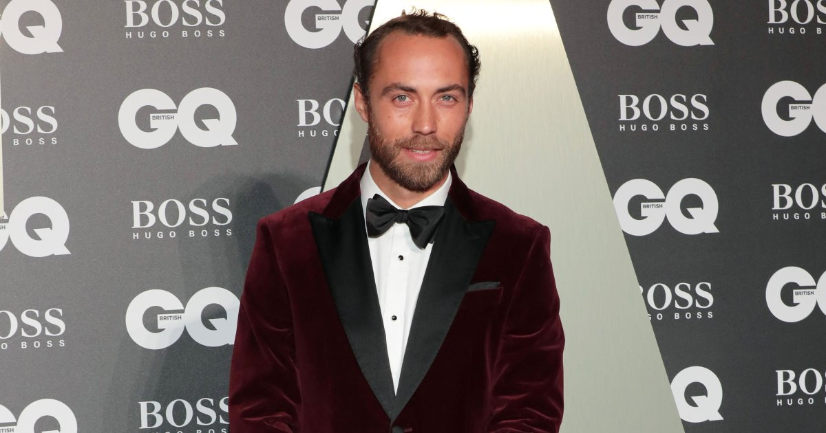 James Middleton Brings His Therapy Dog as His Date to GQ Awards