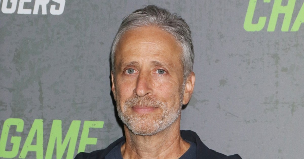 Jon Stewart Jokes He's 'Learning Photoshop' to Get His Kids Into College