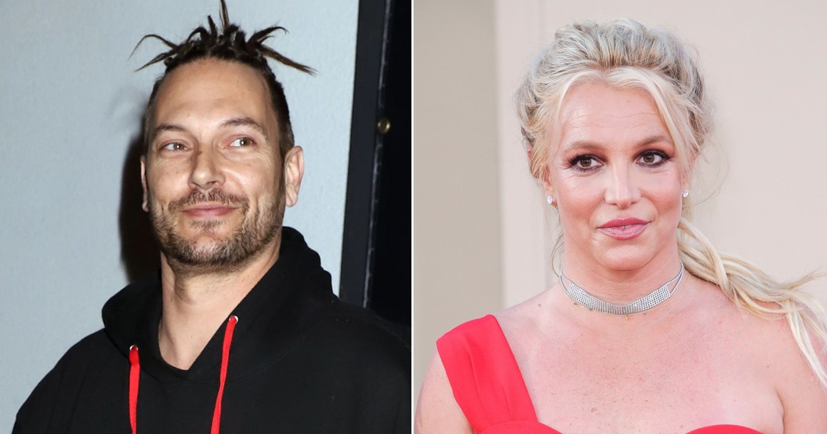 Kevin Federline Wants Britney to Have 'Meaningful' Contact With Their Sons