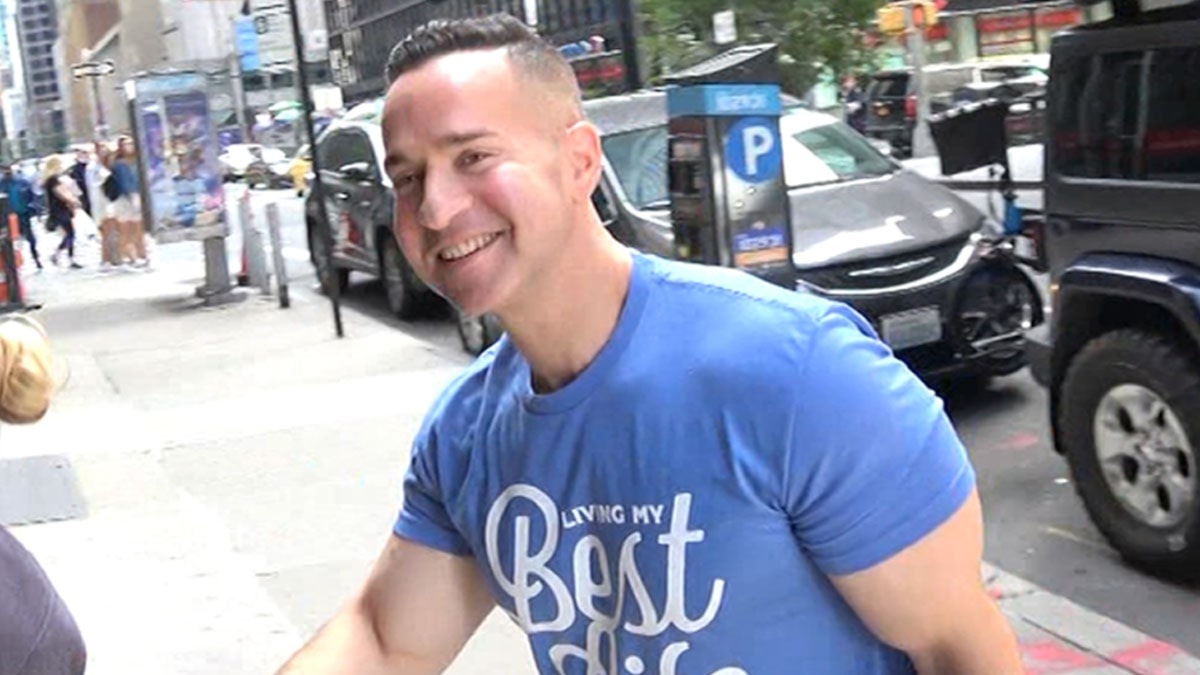 Mike 'The Situation' Says Life After Prison is all Gym Tan Laundry