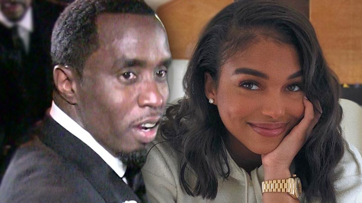 Diddy's Girlfriend Lori Harvey Not Pregnant, Belly Rubs Were Playful