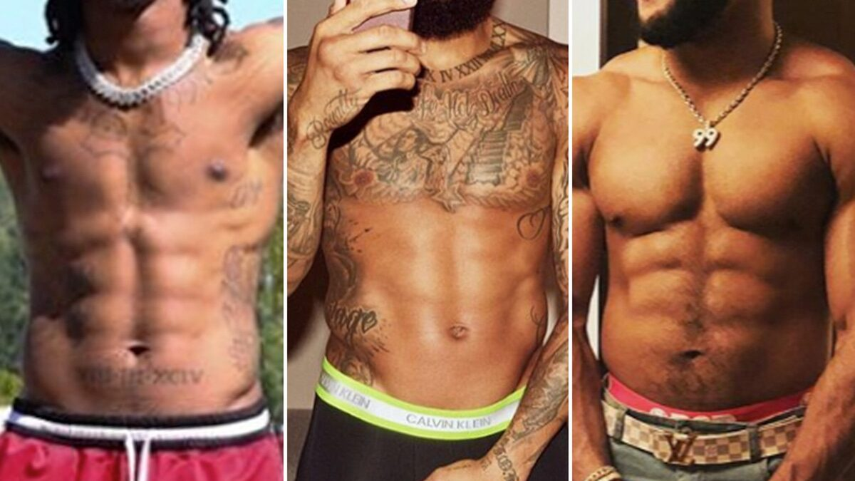 Ripped NFL Abs — Guess Who!