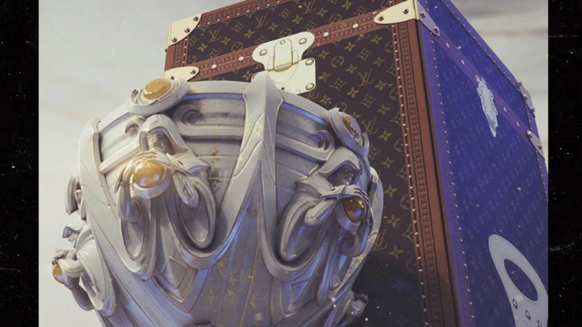 Louis Vuitton Reveals Epic Custom Case for 'League of Legends' Trophy