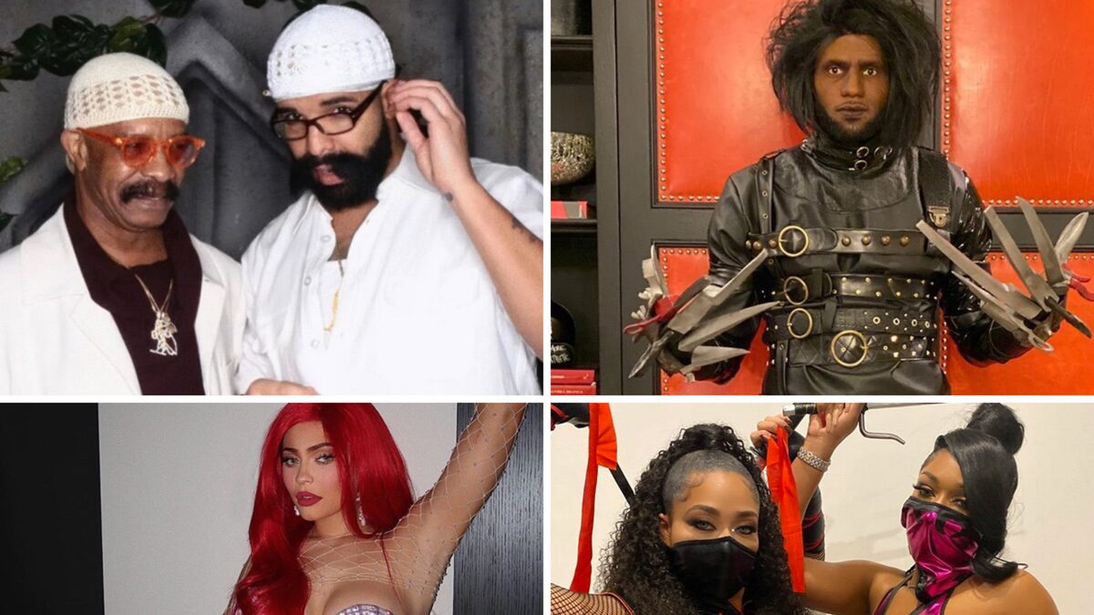 Celebrities Go All Out for 2019 Halloween Costumes