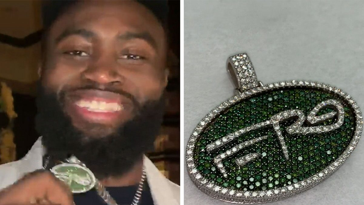 A$AP Ferg Gifts Buddy Jaylen Brown $20k Chain For Birthday