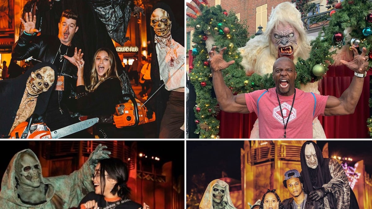 Famous Frights At Hollywood Horror Nights … A Real Scream!