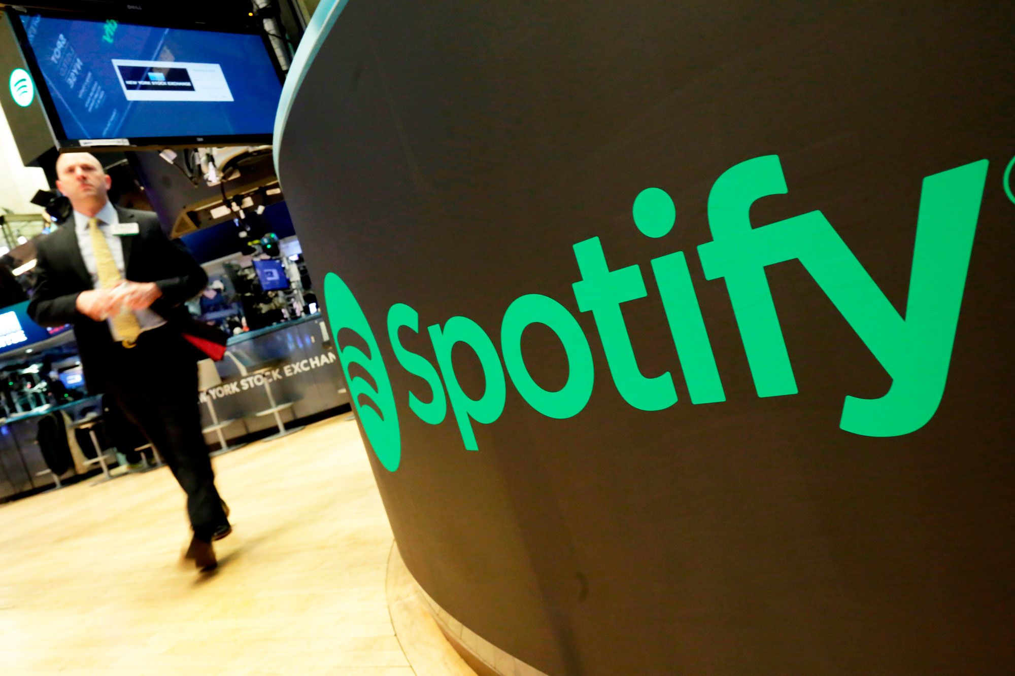 Spotify shares rise after delivering a surprise profit and paid subscription growth