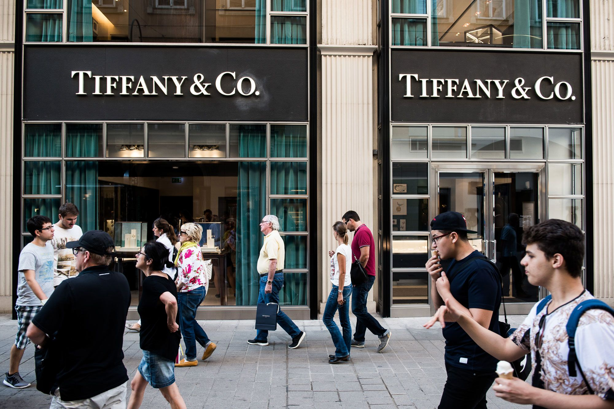 Stocks making the biggest moves midday: Tiffany, Fitbit, Spotify, AT&T, Virgin Galactic & more